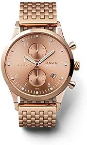ساعة يد للرجال من ترايوا ، 22LCST104-BR021414