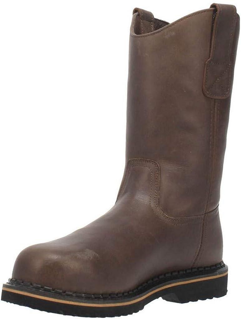 Laredo Mens Rake 11 Inch Electrical Hazard Soft Toe Work Work Safety Shoes Casual - Brown