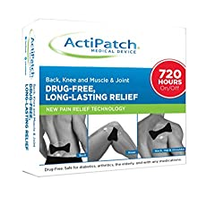 ActiPatch Advanced 24-Hour Pain Relief Device   Drug-Free, Sensation-Free   Lasts for 720 Hours (with On/Off Button)