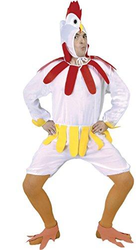 Guirca kostium kurczaka dla dorosłych rozmiar 52-54 (80605.0)