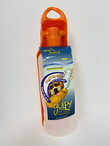 Gulpy Water Dispenser for Pet, 20-Ounce(Colors may...