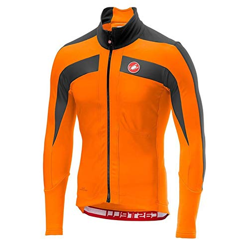 Maillot Bicicleta Traje Ciclismo Vestimenta Giant MontañA Top Hombre Mujer En Deportes Y Aire Libre Manga Larga Camiseta MTB con Bolsillos Fino,E,XL