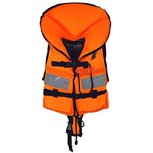 WELLPATH Chaleco de natación para niños, Chaleco de natación para bebés Chaleco de natación de flotación con protección para la Cabeza, Adecuado para 5-40 KG