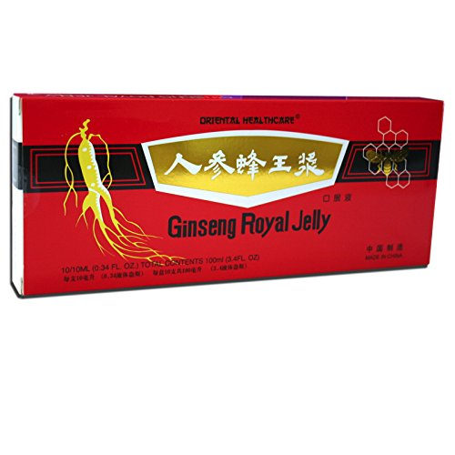 Ginseng Royal Jelly 100Ampullen je 10ml