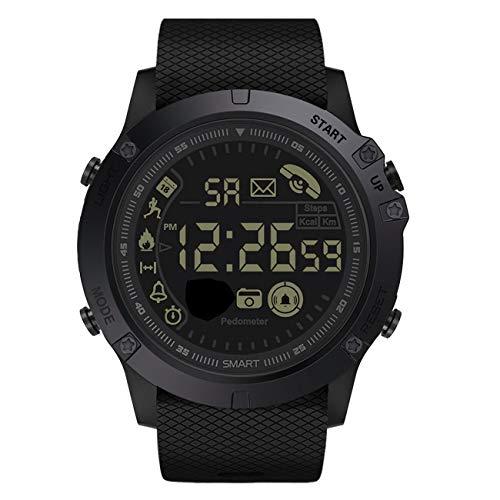 Relojes electrónicos para Hombre Reloj Deportivo Aire Libre Reloj Inteligente a Prueba de Agua Pantalla LED Relojes Casuales para Hombres