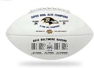 Baltimore Ravens Souvenir Footballs Super Bowl XLVII Souvenir Footballs Ravens Super Bowl Souvenir Footballs