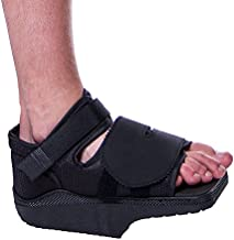 BRACEABILITY Orthowedge Forefoot Off-Loading Healing Shoe - Non-Weight Bearing Medical Boot for Diabetic Foot Ulcer Protection, Metatarsalgia Pain and Post Bunion, Mallet or Hammer Toe Surgery (Large)