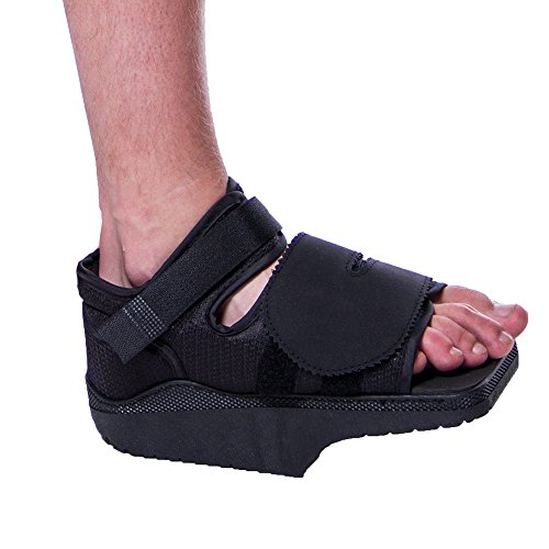 Orthowedge Forefoot Off-Loading Healing Shoe - Non-Weight Bearing Medical Boot for Diabetic Foot Ulcer Protection, Metatarsalgia Pain and Post Bunion, Mallet or Hammer Toe Surgery (Medium)