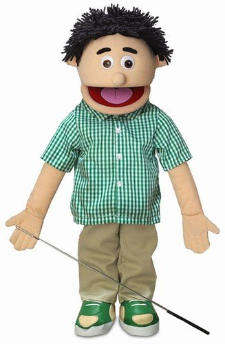 25' Kenny, Peach Boy, Full Body, Ventriloquist Style Puppet