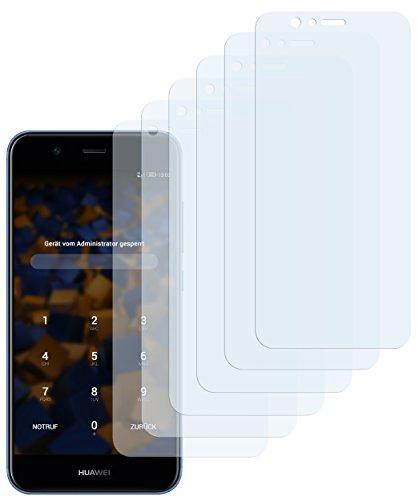 mumbi Schutzfolie kompatibel mit Huawei Nova 2 Folie klar, Bildschirmschutzfolie (6X)