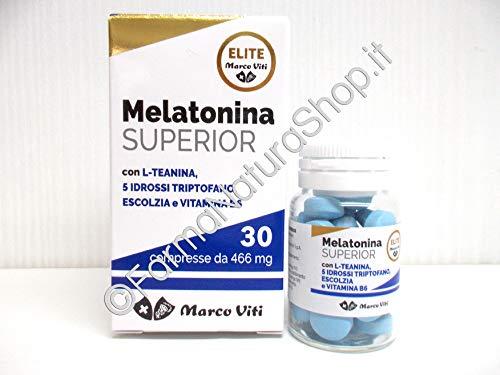 PROMO 2 CONFEZIONI MELATONINA SUPERIOR MARCO VITI 30+30 compresse