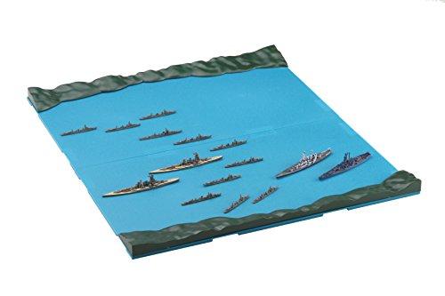 Fujimi Model 1/3000 Collect Warship Series No.12 Naval Battle of Guadalcanal Set (Hiei / Kirishima / SD / Washington / with Water spy) Plastic Model Warship 12