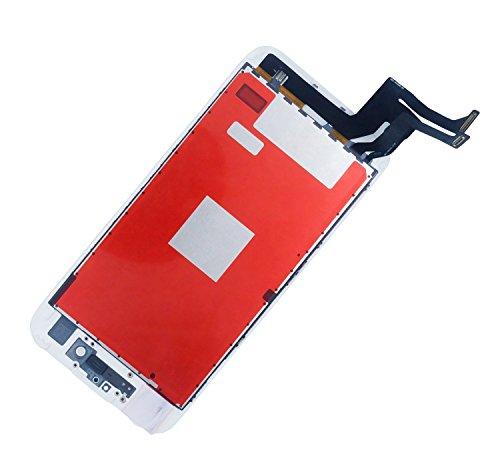 SZM for iPhone7 4.7 インチ 交換修理 フロントパネル 液晶パネル 液晶割れ 修理工具パーツ付き (白)