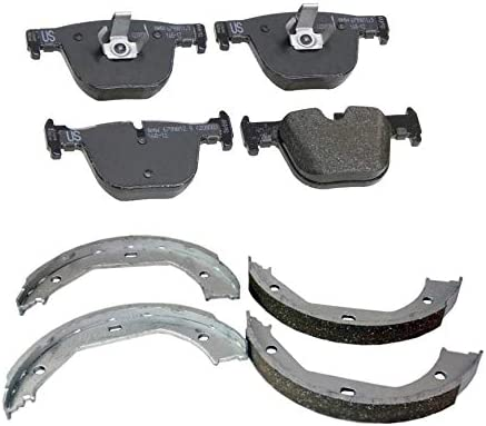 Genuine Rear It is very popular Brake Pad Set Parking Shoe cheap BMW 340i G For F34 Kit