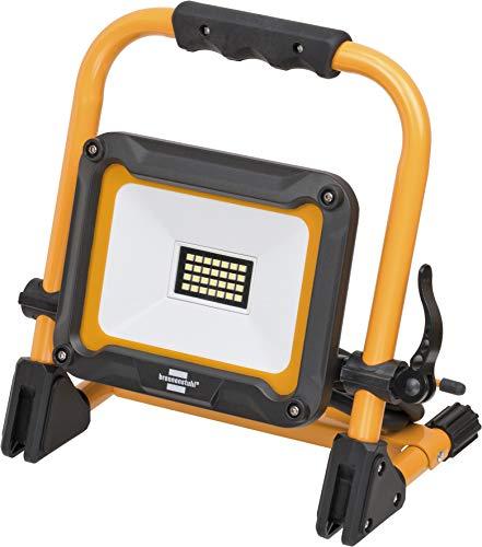 Preisvergleich Produktbild Brennenstuhl Mobiler LED Baustrahler JARO 2000 M (für außen,  IP65,  mit 2m Kabel,  20W,  mit Schnellspannverschluss) schwarz / gelb