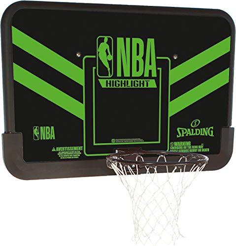 Spalding NBA Highlight Backboard (80-991CN) Tablero, Adultos Unisex, Multicolor, NOSIZE