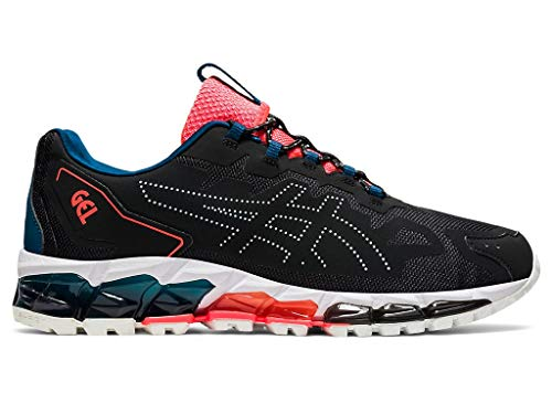 ASICS Men's Gel-Quantum 360 6 Running Shoes, 9M, Black/MAKO Blue