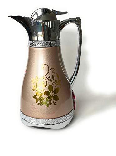 Arabische Thermosflasche Thermoskanne (hellbraun)