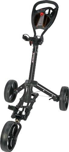 Fast Fold Trike3Wheel Schwarz Golftrolley