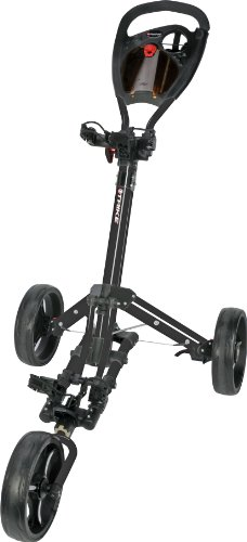 Fast Fold Trike3Wheel Schwarz Golftrolley