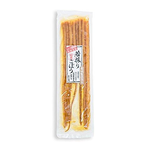 国産 若採りごぼう(180g)/牛蒡 ゴボウ しょうゆ漬け//