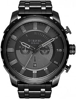 Diesel Men's Black Dial Stainless Steel Band Watch - DI-DZ4349 , 2724540134169
