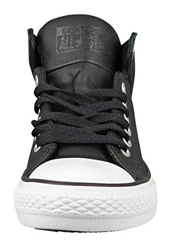 Converse Chucks Schwarz 149426C CT AS Calle Negro Cuero, Converse Schuhe Unisex Sizegroup 10:41.5