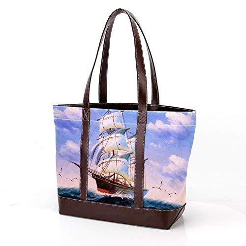 Computer Bags - Bolsa de lona para llevar al hombro con cremallera...
