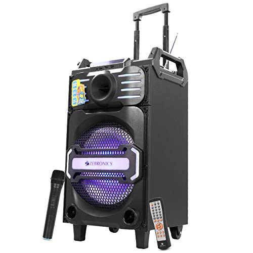ZEBRONICS SPK-ZEBRONICS Bluetooth Trolley Speaker (Moving Monster X10)
