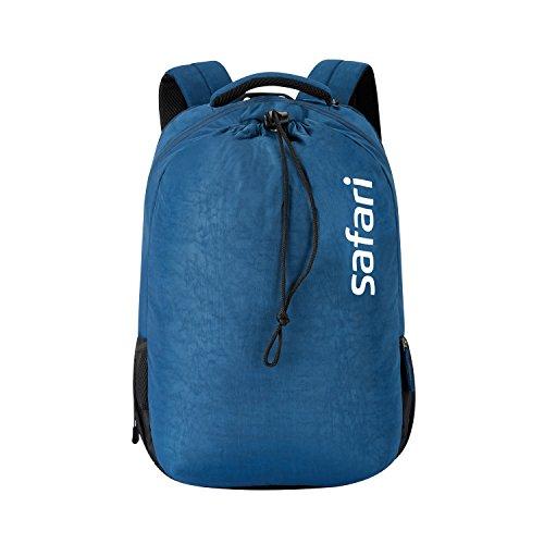 Safari 44.2 Ltrs Navy Blue Laptop/Casual/School/College Backpack (Drawstring 20 CB NAV)