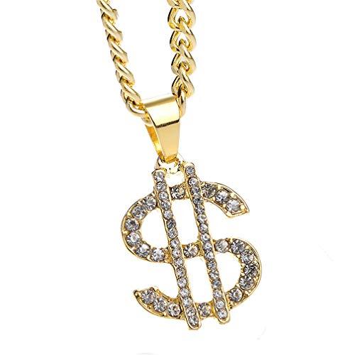 LJSLYJ Dollar-Halskette Kostüm Kostüm für Outfits Zubehör Zubehör