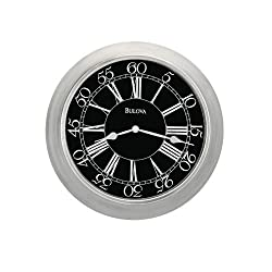 Bulova C4246 Normandy Home & Office Decorative Wall Clock