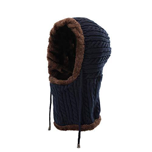JMETRIC Damen Beanie|Strickmütze|Grobstrick Strickmütze|Kopfbedeckung|Winddichte Mütze|Ohrenschützer Strickmütze| Gestrickt Verdicken Wintermütze