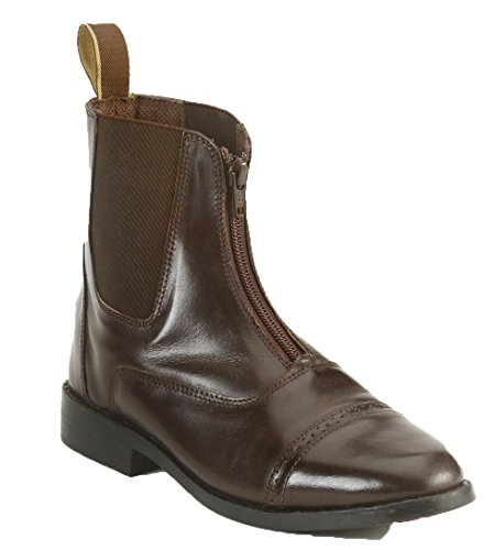 Hot Sale Equistar - Child's Zip Paddock Boot (Leather) 2 Brown