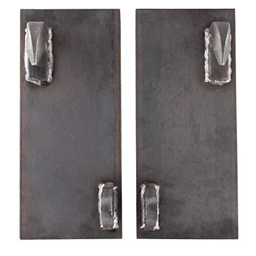 Koppelplatten | gerade | roh | Euroaufnahme | Euro Aufnahme | Trecker | Traktor | Schlepper | Frontlader | Anschweißplatte | Ersatzteil | made in germany