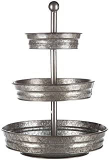Galvanize Your Home 3 Tier serving tray galvanized farmhouse stand