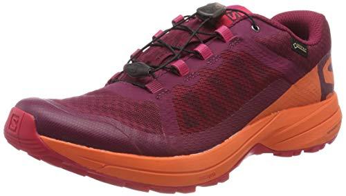 Salomon Damen Xa Elevate GTX W Traillaufschuhe , Rot (dunkelrot / pink dunkelrot/pink) , 37 1/3 EU