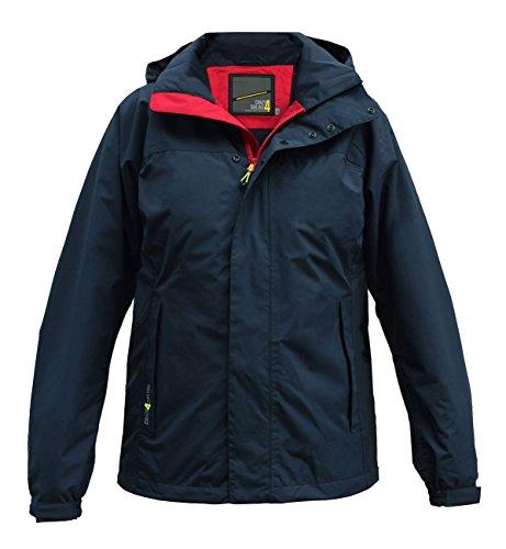 crazy4sailing Herren Segeljacke Bari Light Line Jacket, Farbe:blau, Größe:M