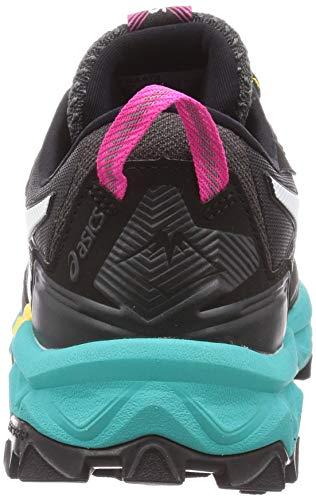 ASICS Gel-Fujitrabuco 8 G-TX, Zapatillas para Correr para Mujer, Black White, 35.5 EU