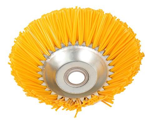 GARDINGER Kunststoff-Kegelbürste für Motorsense 200 mm ZB=25,4 mm für empfindliche Oberflächen