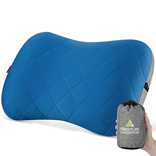 Hikenture Camping Pillow with Removable Cover
