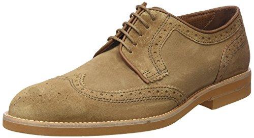 Lottusse T2039, Zapatos Cordones Brogue Hombre, Beige