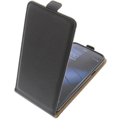 foto-kontor Tasche für Gigaset Me Smartphone Flipstyle Schutz Hülle schwarz
