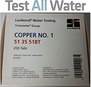 Lovibond Copper No. 1 testtablets