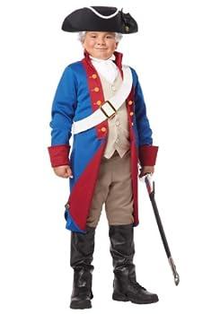 Boys American Patriot Costume - M