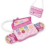 Kit de maquillaje infantil para niña, lavable, para jugar, kit de maquillaje, juegos de imitación, mi primer conjunto de maquillaje, kit de maquillaje para niñas probado de forma segura.