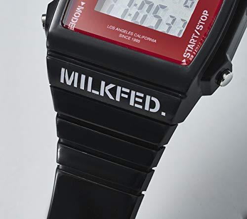 MILKFED. DIGITAL WATCH BOOK BLACK 商品画像
