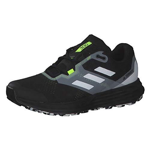adidas Terrex Two Flow, Zapatillas de Trail Running Hombre, NEGBÁS/Balcri/Amasol, 44 EU