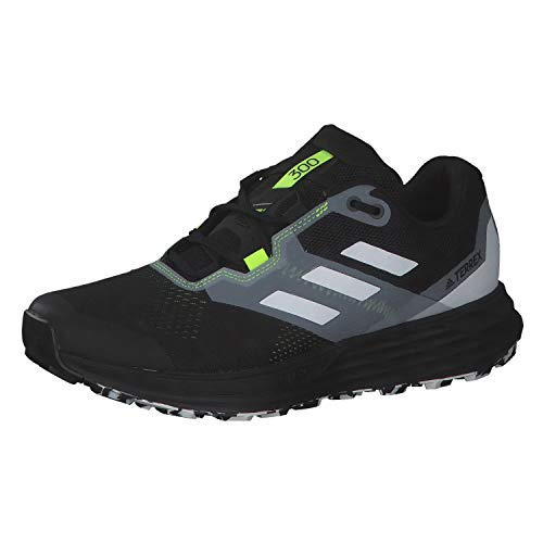 adidas Terrex Two Flow, Zapatillas de Trail Running Hombre, NEGBÁS/Balcri/Amasol, 39 1/3 EU