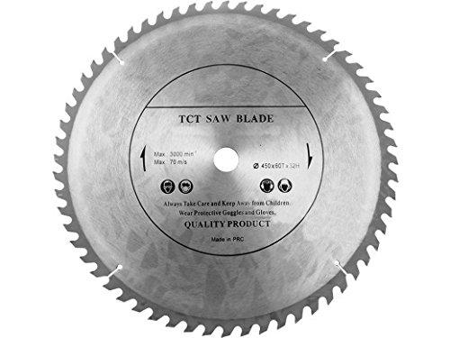 Hoja de sierra circular de alta calidad (sierra cortada) 450 mm x 32 mm x 60 T para discos de corte de madera circular